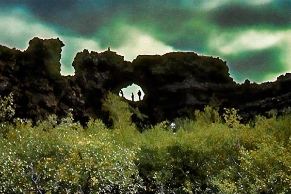 Photograph - Dimmuborgir In Iceland by Richard Goldman