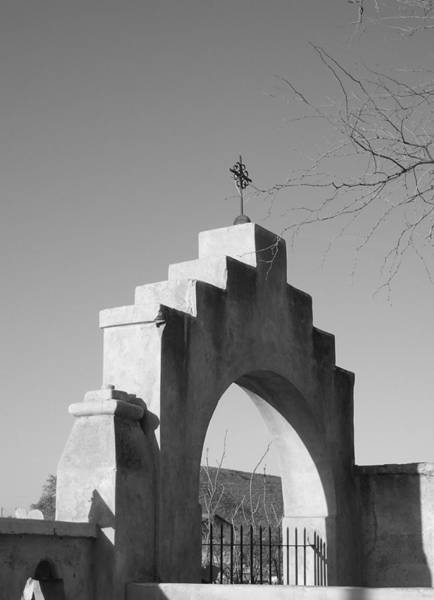 Wall Art - Photograph - Arch Of Light And Shadow At San Xavier Del Bac - 90 by Eve Paludan