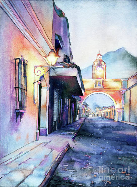 Wall Art - Painting - Arch Of Santa Catalina- Guatemala by Ryan Fox