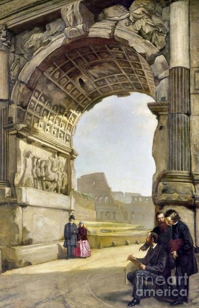 Painting - Arch Of Titus by Granger