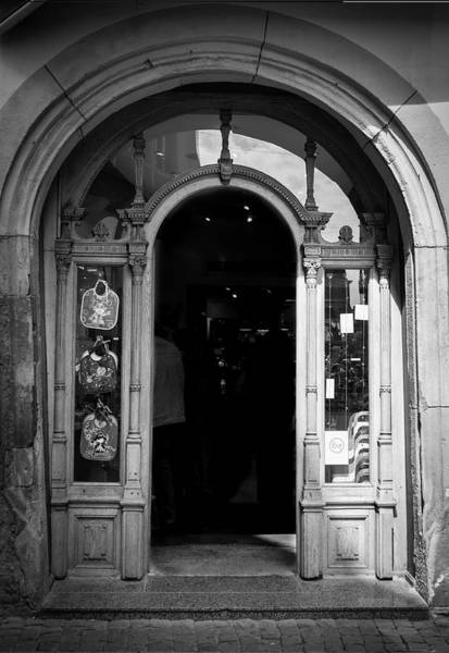 River Ill Wall Art - Photograph - Arched Doorway In Strasbourg by Teresa Mucha