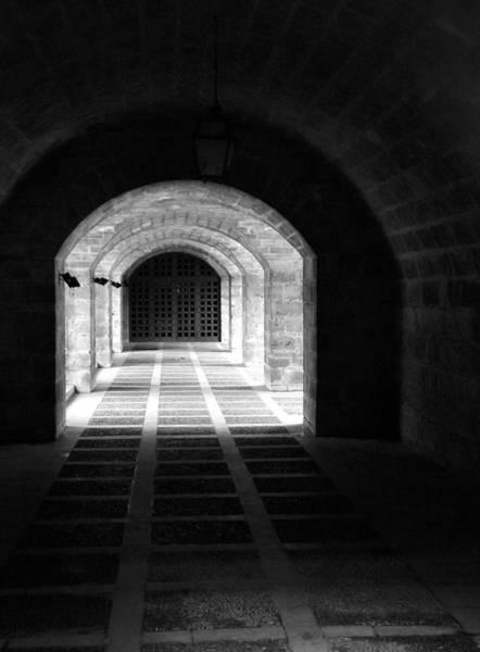 Arched Hallway In Palma Art Print