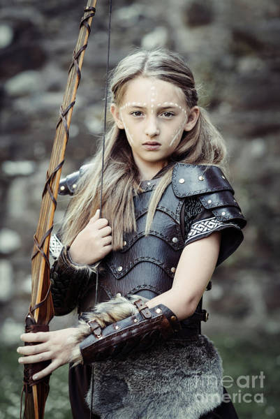 Game Of Thrones Photograph - Archer Girl by Amanda Elwell