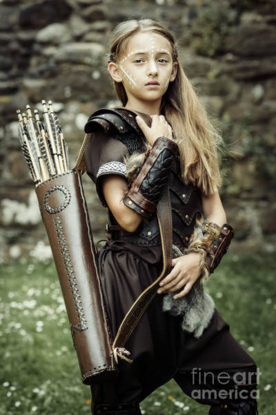 Cosplay Photograph - Archer Warrior by Amanda Elwell