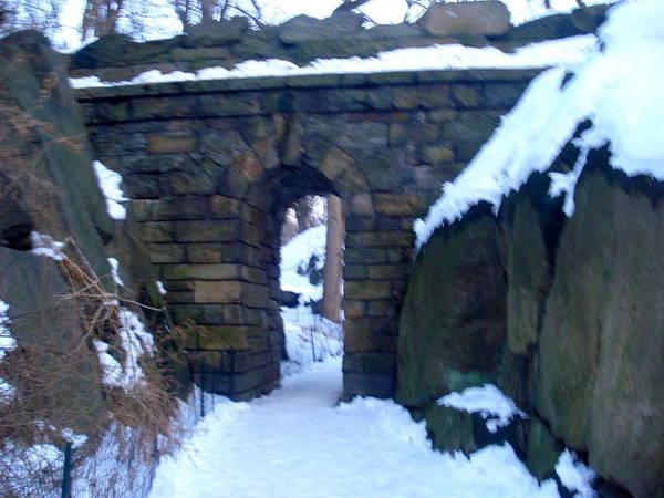 Arches And Bridges - Central Park Nyc Art Print
