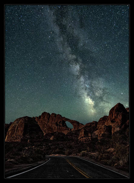 Wall Art - Photograph - Arches At Night by Robert Fawcett