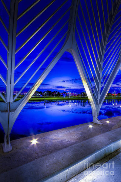 Santiago Calatrava Photograph - Arches At Sunset by Marvin Spates