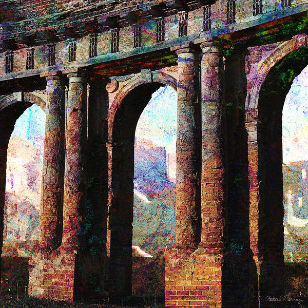 Digital Art - Arches by Barbara Berney