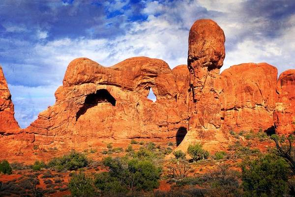 Photograph - Arches Landscape 3 by Marty Koch