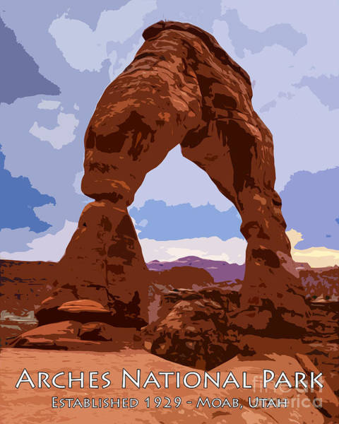 Photograph - Arches National Park by Gary Whitton