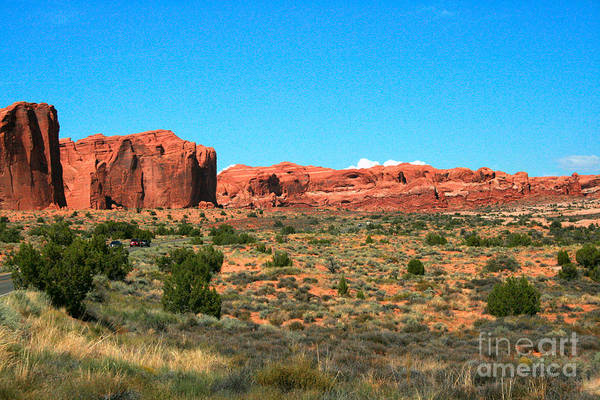 Wall Art - Painting - Arches National Park In Moab, Utah by Corey Ford