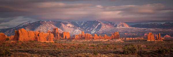 Arches National Park Pano Art Print