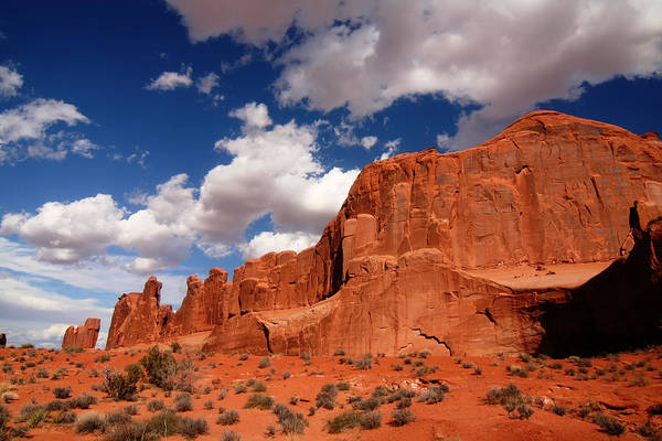 Photograph - Arches National Park Park Ave by Mark Smith