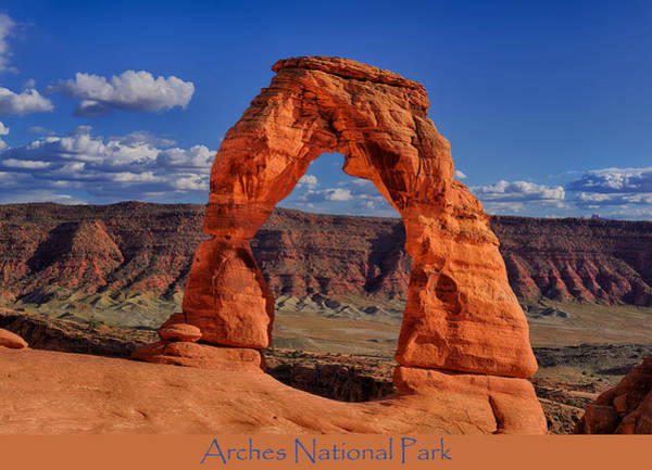 Photograph - Arches National Park Poster by Greg Norrell