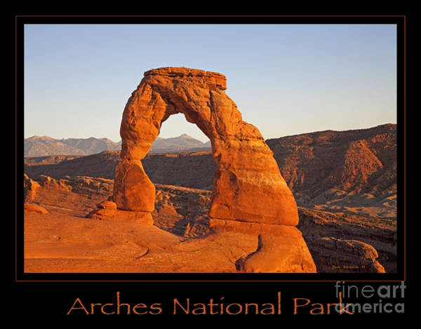 Wall Art - Photograph - Arches National Park Poster by John Stephens