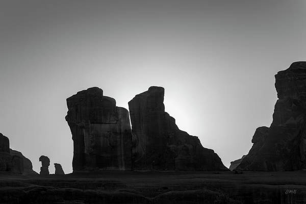 Photograph - Arches Np V Bw by David Gordon