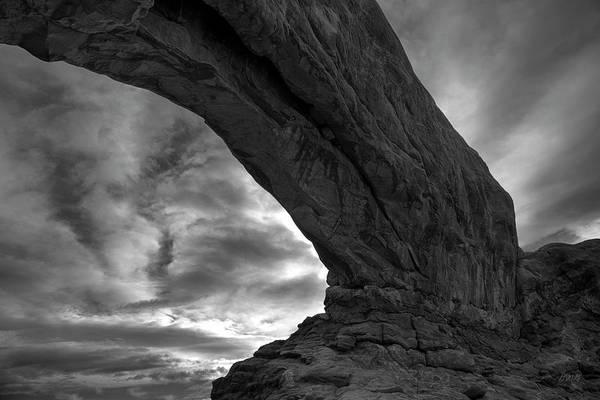Photograph - Arches Np Xx Bw  by David Gordon