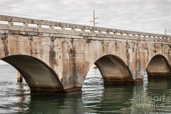 Photograph - Arches Of East Coast Railway In Florida Keys by Elena Elisseeva