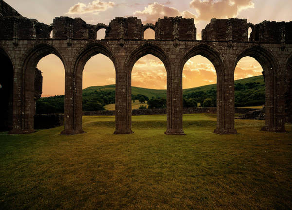Photograph - Arches Of Llanthony Priory by Jaroslaw Blaminsky