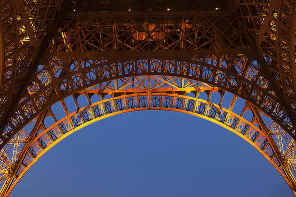 Wall Art - Photograph - Arches Of The Eiffel Tower by Andrew Soundarajan