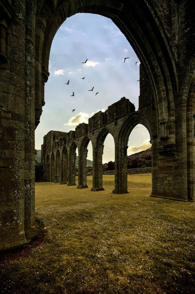Photograph - Arches Of The Old Abbey by Jaroslaw Blaminsky