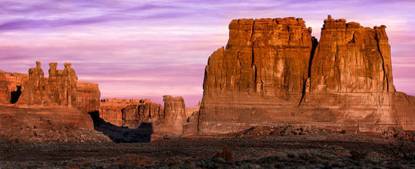 Photograph - Arches Pano by Michael Ash