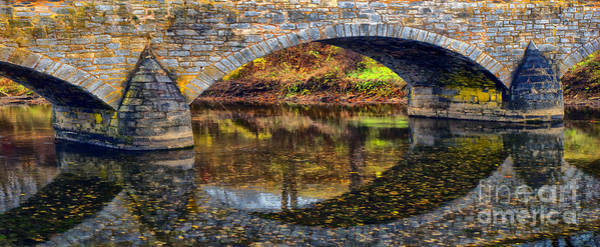 Burnside Bridge Photograph - Arches by Paul W Faust - Impressions of Light
