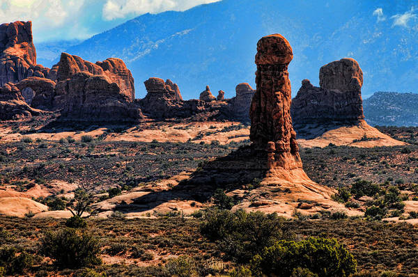 Photograph - Arches Rocks 1 by Lawrence Christopher