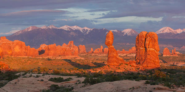 Photograph - Arches Sunset by Aaron Spong