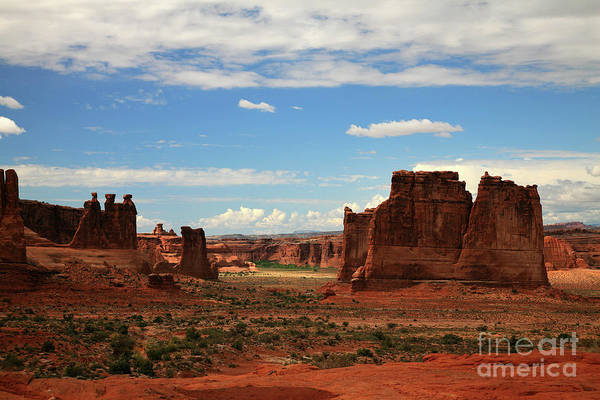 Courthouse Towers Wall Art - Photograph - Arches by Timothy Johnson