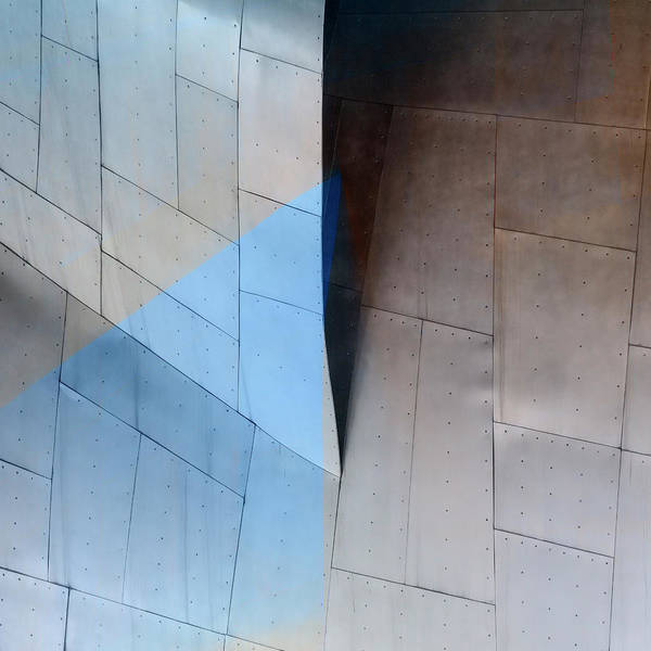 Contemporary Architecture Photograph - Architectural Reflections 4619e by Carol Leigh