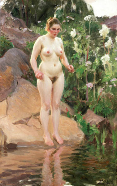 Having Sex Painting - Archipelago Flower by Anders Zorn