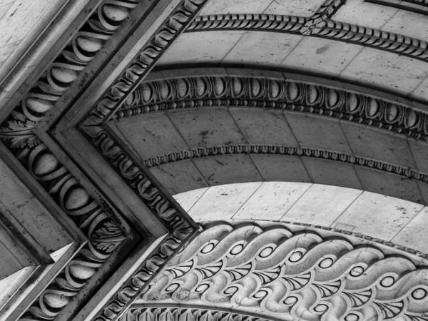Photograph - Architectural Details Of The Arc by Donna Corless