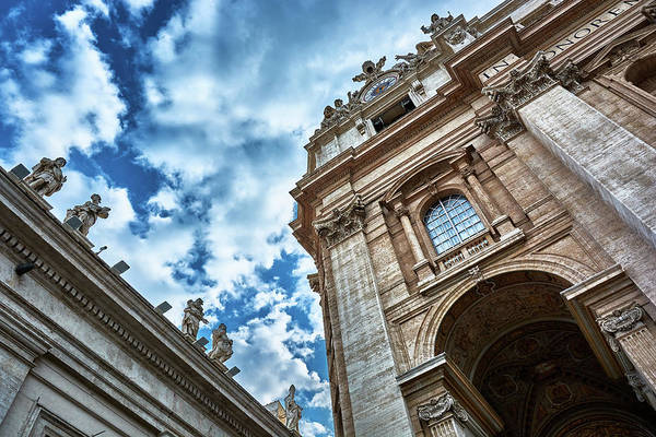 Photograph - Architectural Majesty On Top Of The Sky by Fine Art Photography Prints By Eduardo Accorinti