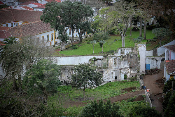 Photograph - Architectural Ruins In Angra Do Heroismo by Kelly Hazel