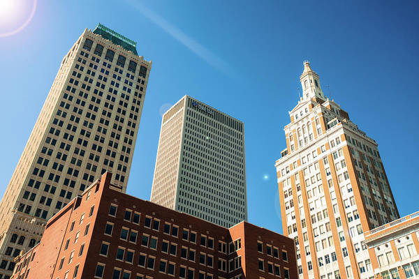 Photograph - Architecture And Skyscrapers Of The Tulsa Skyline by Gregory Ballos