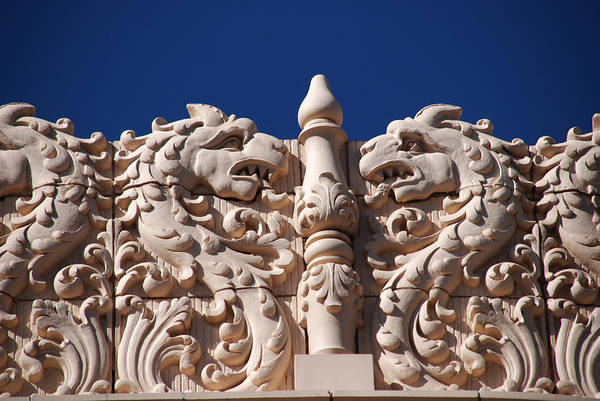 Photograph - Architecture At The Lensic Theater In Santa Fe by Susanne Van Hulst