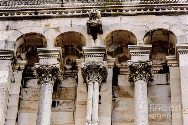 Photograph - Architecture Of Diocletian's Palace In Split, Croatia by Global Light Photography - Nicole Leffer