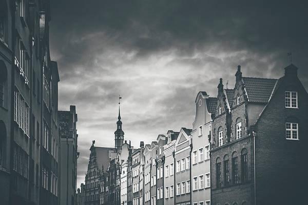 Polished Photograph - Architecture Of Old Gdansk  by Carol Japp
