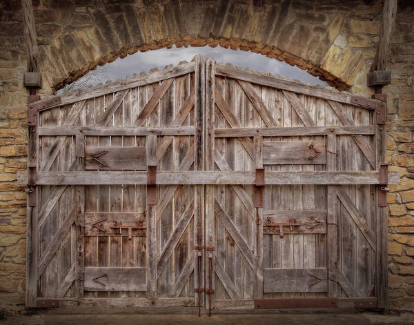 Wall Art - Photograph - Archway Gate by David and Carol Kelly