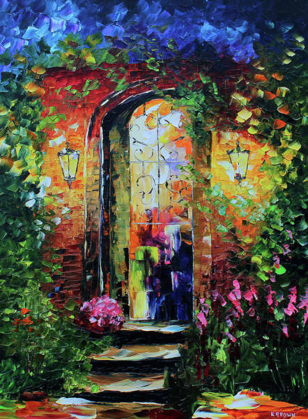 Painting - Archway by Kevin Brown