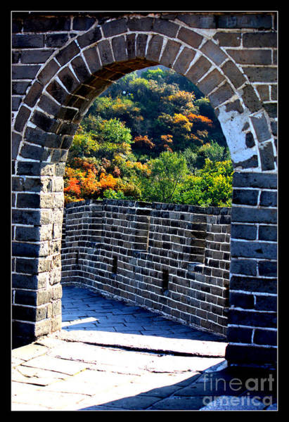 Photograph - Archway To Great Wall by Carol Groenen