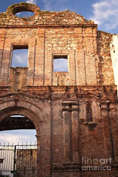 Photograph - Arco Chato Ruins In Casco Viejo, Panama by Tatiana Travelways