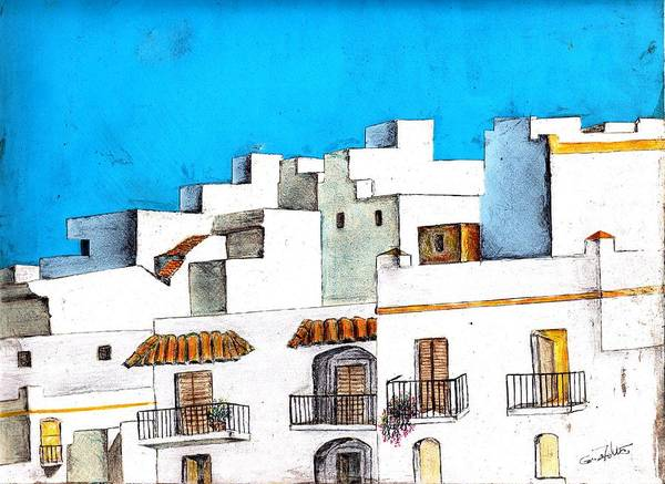 Arcos De La Frontera Spain Art Print