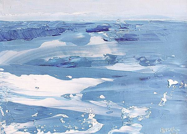 Painting - Arctic Ocean by Norma Duch
