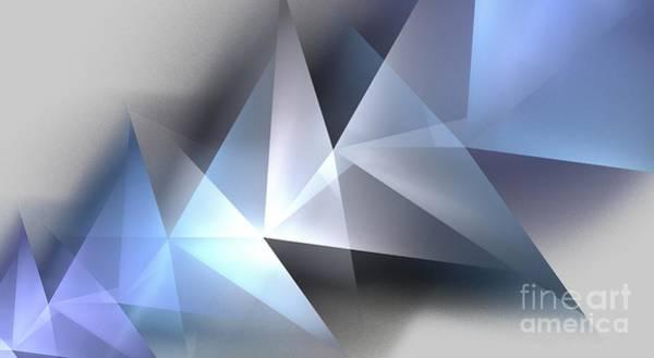 Frozen Tundra Digital Art - Arctic Pyramids by Kim Sy Ok