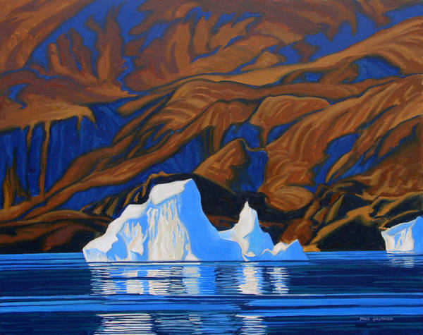 Arctic Tapestry Art Print by Paul Gauthier