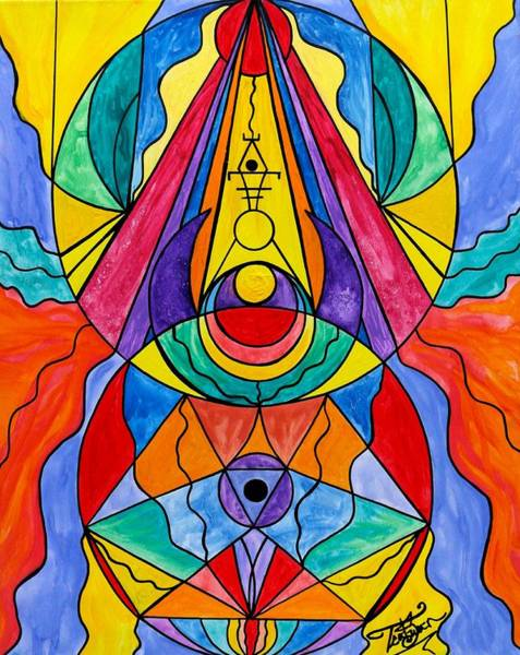 Painting - Arcturian Insight Grid  by Teal Eye Print Store