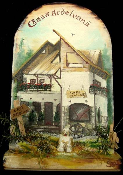 Painting - Ardeleana House by Sorin Apostolescu