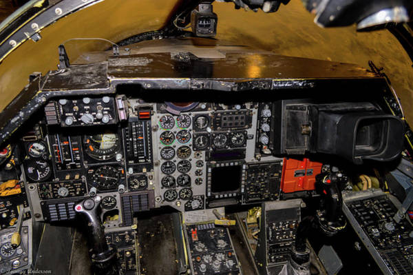 Wall Art - Photograph - Ardvark Cockpit by Tommy Anderson
